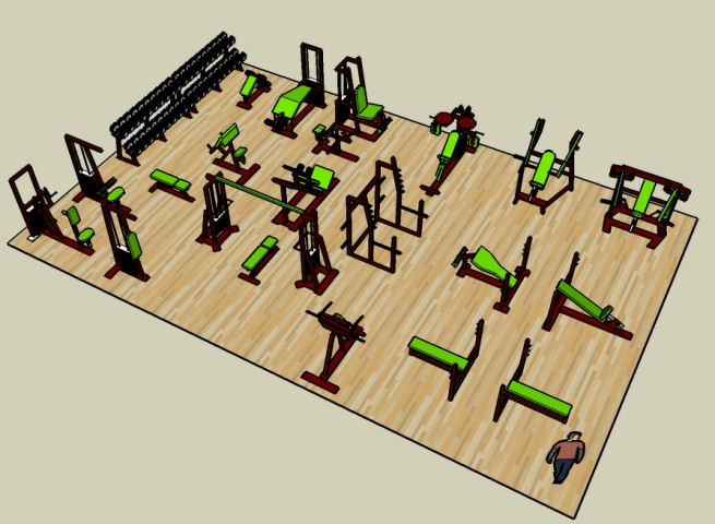 Demonstration Gym Layout